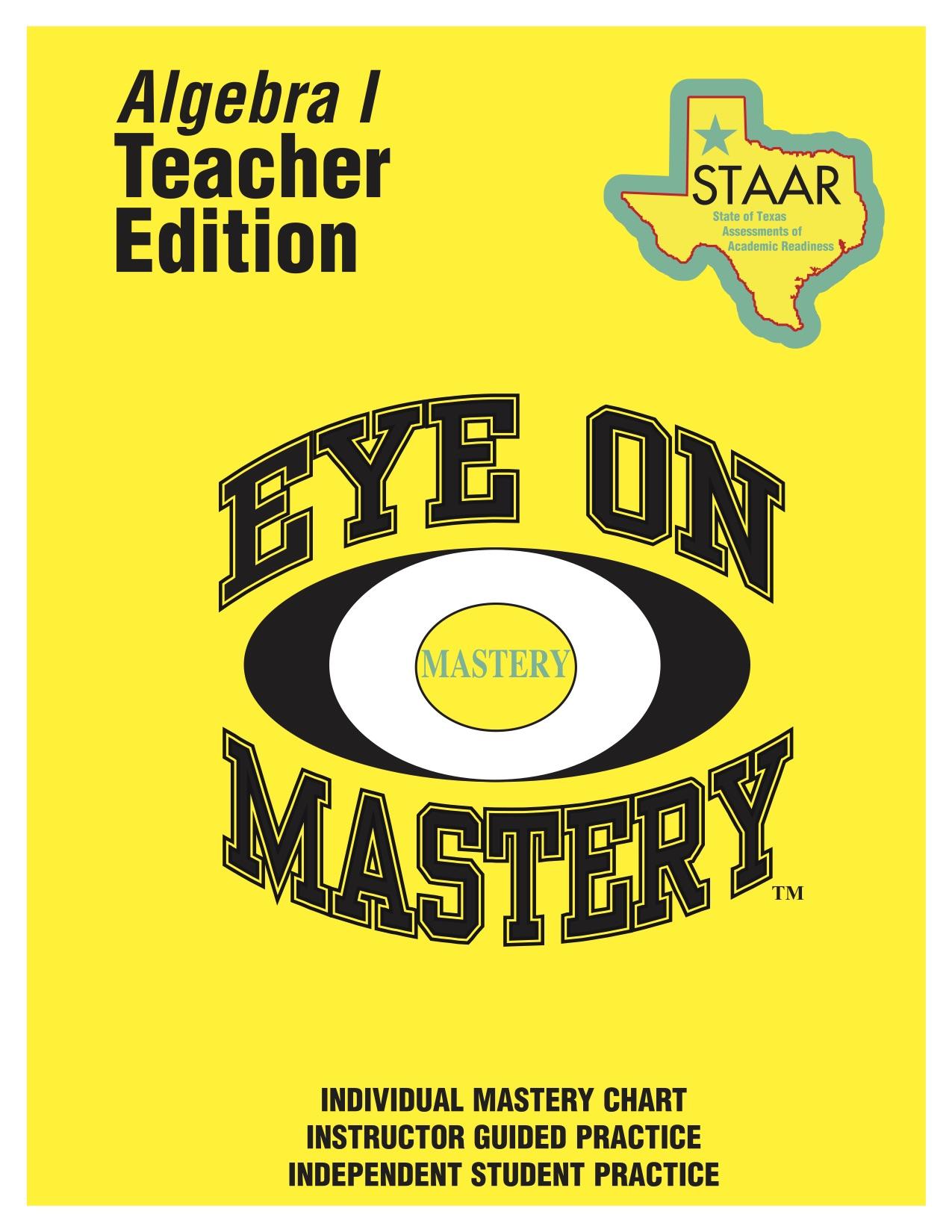 Eye on Mastery
